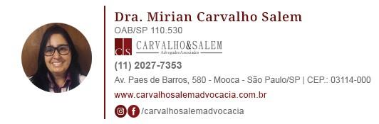Dra. Mirian Carvalho Salem