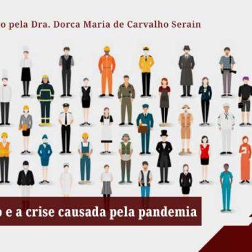 O Dia do Trabalho e a crise causada pelo coronavírus